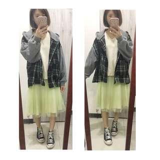 Romis 日系雙層紗裙 全新