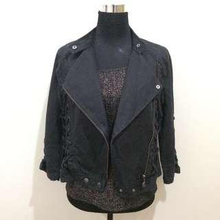 Armani Exchange Black Jacket/Blazer