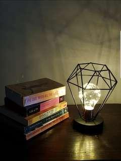 Carat Terrarium Fairy Lights Lamp