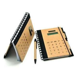 Notebook w/ Calculator♡