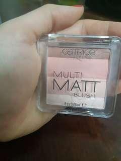 Catrice blush 四色胭脂 (matt)