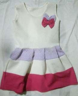 Baby Girl Colorful Dress 2T