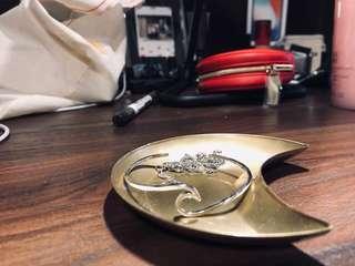 🚚 月亮金屬 飾品盤