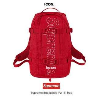 Supreme 45th backpack 後背包