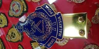 PBP Malaysia Emblem Badge Logo Gold Plated