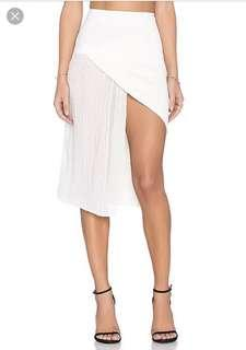 Maurie & eve felix skirt in white size 10