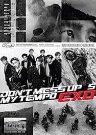 EXO POSTER Dont Mess Up My Tempo