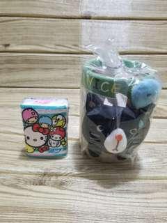 立體布筆桶 korea Choo Choo cat 韓國貓  like sanrio kitty