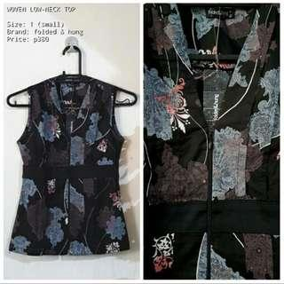 F&H FLORAL TOP