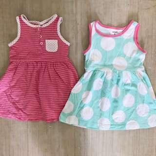 Carter's Baby Dress Bundled