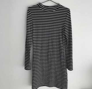 Pare basic stripe dress