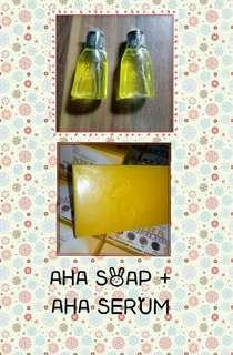 AHA SOAP 135g + AHA SERUM 30ml