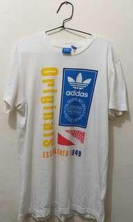Authentic Adidas Originals Tee size M fit to L