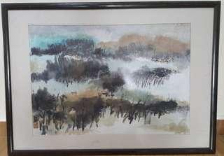 Chinese Painting 80 x 58