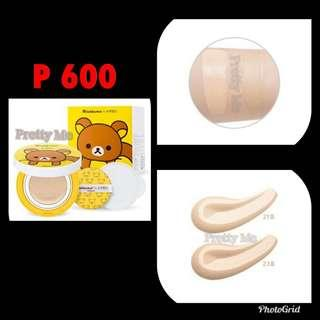 A'pieu Air Fit Cushion XP Cushion Set Rilakkuma Edition with REFILL #23