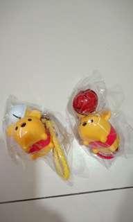 Pooh bag charm