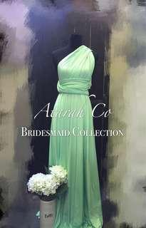 Last Piece Bridesmaid Infinity Dress convertible Multiway
