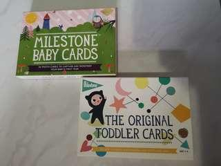 Milestone Baby Cards Bundle - Baby and Toddler