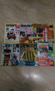 全新 日本 男性流行時尚雜誌 smart mono max joker  不附贈品