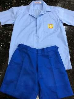 Very good condition Rivervale Primary School Boys Uniform Set Cosplay Party Clothes Education