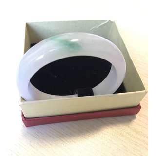 Jade bangle - A grade from Myanmar 53.4mm
