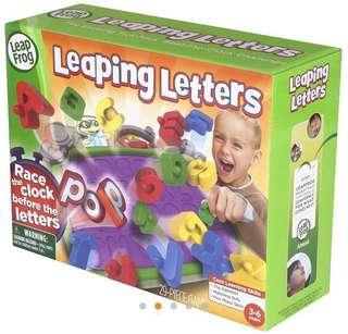 #MenXmasGift #LadiesXmasGift LeapFrog Leaping Letters