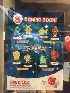 McDonald Pokemon