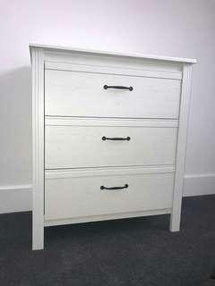 Ikea 3 chest drawers! Deliver today