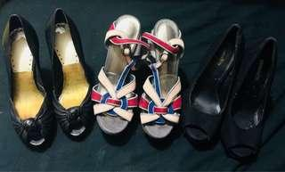 Super sale! Pre Loved branded heels bundle