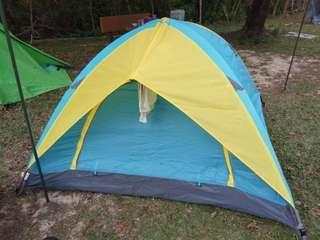 戶外帳篷 鋁杆 露營 3人
