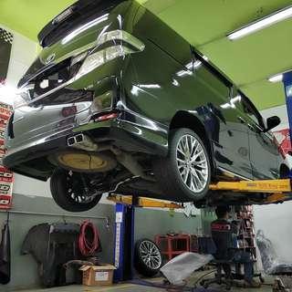 Toyota Upgrading Repairing Works