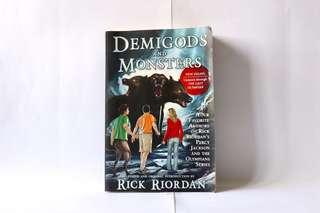 🚚 Demigods and Monsters Rick Riordan