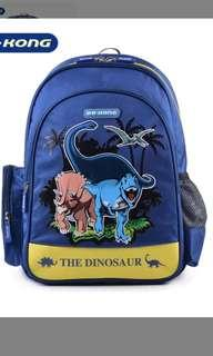 Brand new Authentic Dr Kong Dinosaur S Size School bag