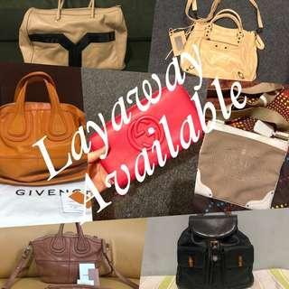 Authentic preloved luxury items