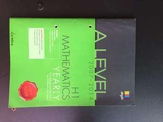 H1 Math 2007-2014 TYS #prelovedwithlove