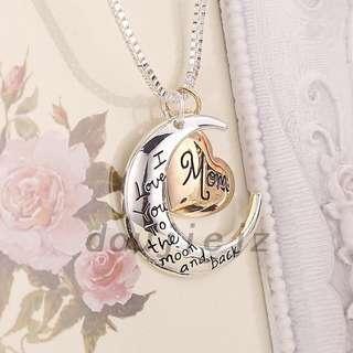 🚚 I Love You Mom Necklace