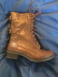 Shriekh Brown Boots 6.5