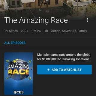 Amazing Race US Chapter Season 15 to 18  (by Request for other Seasons/Chapters)