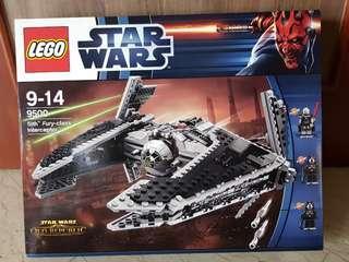 Lego Star Wars 9500 Sith Fury-class Interceptor
