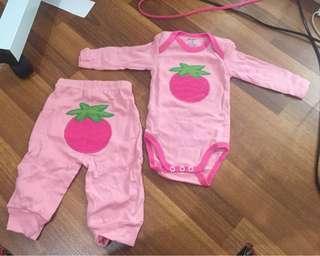 Sleepsuit setelan for newborn - 3 month ( carter junior )