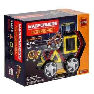 🚚 Magformers XL Cruiser Set
