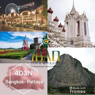 Travel Bangkok 4D3N