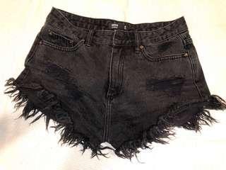 GLASSONS Denim Shorts Size 8