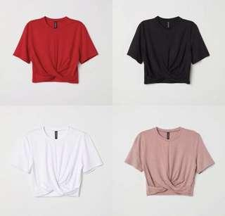 KNOP TOP BY H&M