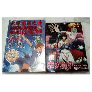 [ANIME DVD][READY STOCK] 1 DVD FOR RM30 - PRICE NOT INCLUDE POSTAGE YET.