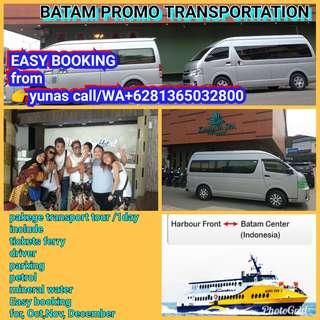 BATAM RENT VEN and PRIVATE DRIVER