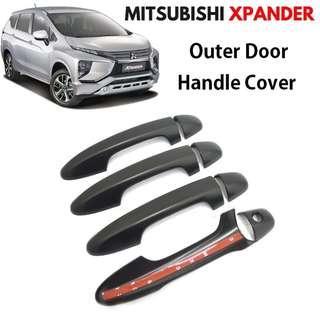 Mitsubishi Xpander Outer Door Handle Cover Matte Black 2018-2019