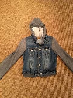 AMERICAN EAGLE Jean Sweater Jacket