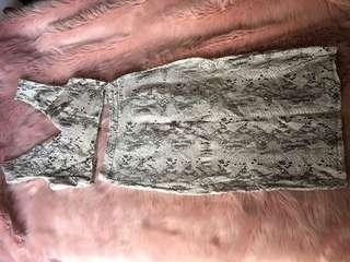 Snake print matching co-ord set