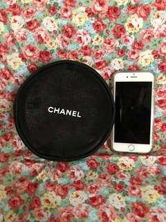 Chanel Joiedevivre  Xmas Edition Mesh Coin Pouch